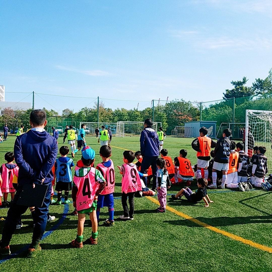 第10回サッカーフェスティバル(ネッツトヨタ神戸×EVEIL FC)